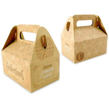 Fancy Customized Design Kraft Paper Gift Confection Box