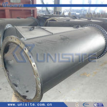 Alta presión y rama tubo de acero de ajuste (USB041)
