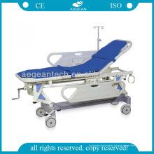 AG-HS002 hôpital moderne ABS 4 fonctions prix de civière d'hôpital