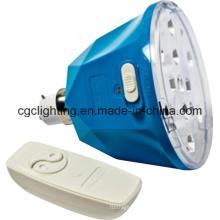 Bombilla LED recargable a distancia