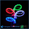 LED Light Smile Face USB Data Sync Charger Cable