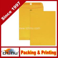 Застежка для конвертов, 9 X 12 дюймов, Brown Kraft (540019)