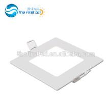 6W CE ROHS genehmigte SMD2835 quadratische geführte Deckenpanelbeleuchtung warmes weißes / weißes / kühles Weiß