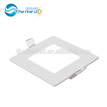 6W CE ROHS Approved SMD2835 square led ceiling panel lighting warm white/ white/cool white