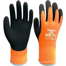 WonderGrip Water-Proof Insulated Latex Foam Grip Gloves for Cold Climate