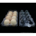 Supermarket Clear Blister Plastic Box for Eggs (PVC egg tray)