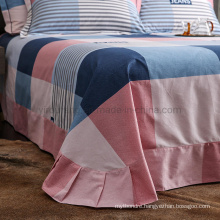 Wholesale Cotton King Size Bed Sheet Set Cheap Price for Home Product
