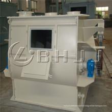 Misturador de argamassa de mistura seca, misturador de eixo duplo