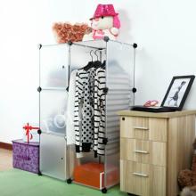 El guardarropa de DIY puede almacenar mucha ropa, muchos colores disponibles (FH-AL0021-3)