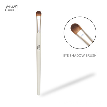 Single White Eyeshadow Makeup Brushes Private Label