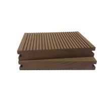 Solid Grooved Durable Waterproof Anti-Slip Fire-Retardant Termite-Free WPC Decking