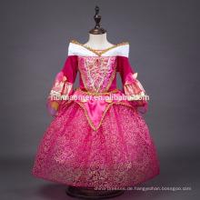 2016 Mädchen lange Party tragen Dornröschen Aurora Prinzessin Kleid Kostüm