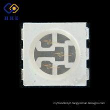 superfície de montagem plcc-6 0.2 w 5050 azul smd led chip para tira