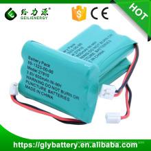 GLE-27910 Ni-MH Batería recargable AAA 3.6V 600mAh para teléfono inalámbrico