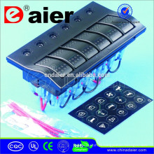 PN-AP6S-P 12 V / 24 V Com Painel de Interruptor Auto de LED