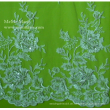 Lace Fabric 2014 Für Kleid Home Desgin Mit Appliqued Perlen Gürtel Stickerei Nr. CA025B