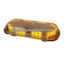 Barra de luz de Led âmbar de mini Strobe