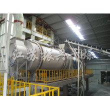 Industrial Rotary Drum Dryer para Metal Pó