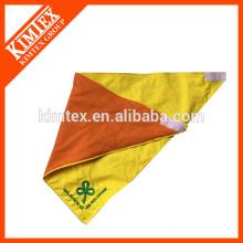 Мода дешевые хлопка печатных собака треугольник флисовой лентой