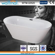 Baignoire en trempette en acrylique de qualité blanche (WTM-02520)