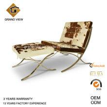 Chaise en cuir aviateur Bureau canapé réunion (GV-BC01)
