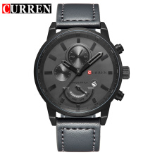 Montre à quartz à la mode avec design suisse de base suisse