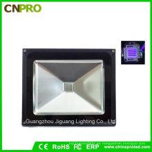 Luz de inundación Ultra Violet IP65 UV LED de 50W con nosotros Plug o enchufe europeo