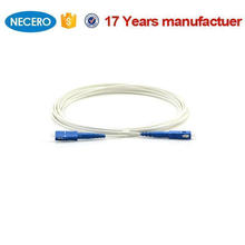 SC SM 9/125 Simplex Fiber KFRP Strength G652D LSZH FTTH Внутренний соединительный кабель для кабельных систем Бенина