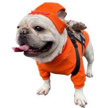Pet appare bouledogue français accessoires chapeaux vêtements pour chiens