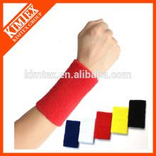 Sport cotton supporter wristband
