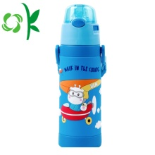 3D SIlicone Cartoon Sleeve Kinderen Drinkfles Mouw