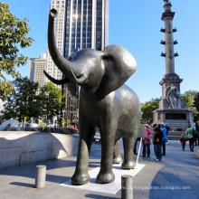 Projeto Popular Estilo Antigo Artesanato De Metal Indiano Escultura De Bronze Elefante