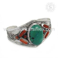 Fantabulous turquoise turquoise en argent sterling 925 bijoux en argent sterling bijoux faits à la main grossiste