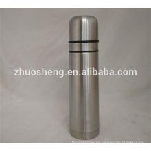LFGB precio bajo pared doble colorido frasco de vacío, botella de vacío