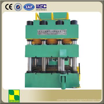Presse hydraulique de gaufrage de peau de porte en acier