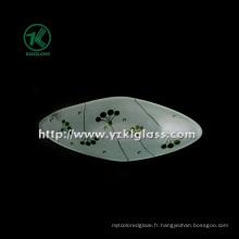 Plaque en verre à un seul mur par SGS (KLP130402-26)