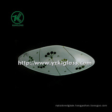 Single Wall Color Glass Plate by SGS (KLP130402-26)