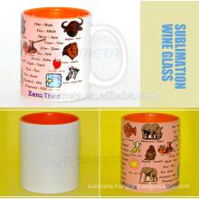 11oz sublimation coated mugs .how to print on mugs