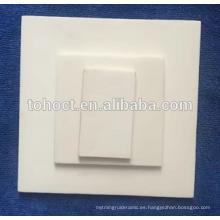 Placas de alúmina / al2o3 / placa de alta calidad