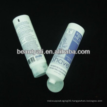 screw on cap transparent frosted cosmetic tube