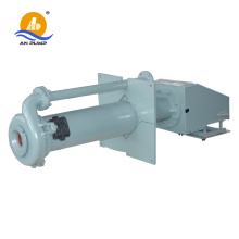 Rubber liner vertical sump pump