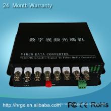 Precio analógico del convertidor del wifi de 8 canales del precio de fábrica de HongRui