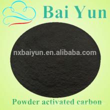 1000 mg / g de yodo en polvo de valor de carbono activado