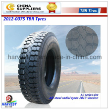 Traktionsmuster Alle Stahl-LKW-Reifen (13R22.5)