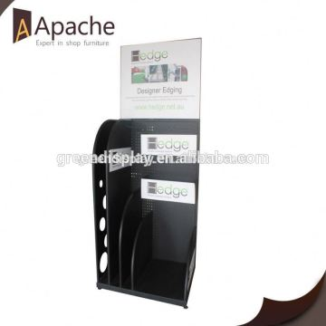 Quality Guaranteed powder coating supermarket acrylic display stands