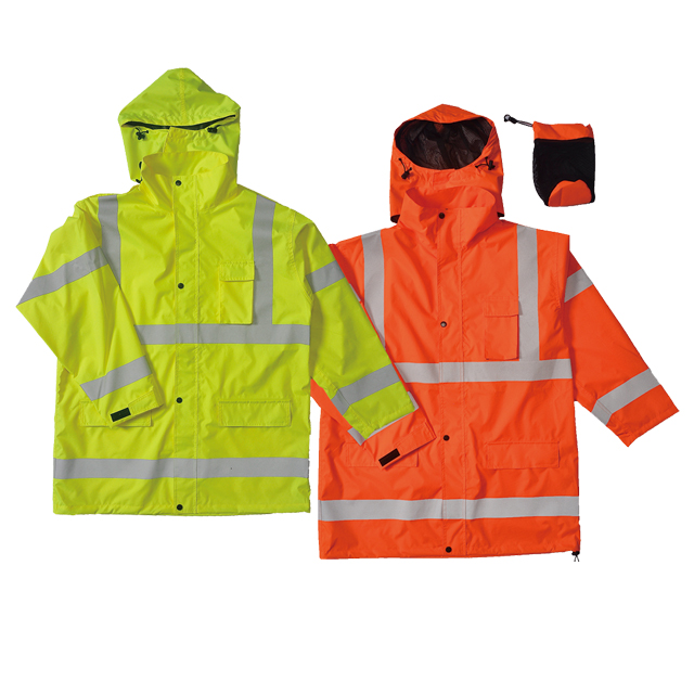 Hi-vis Waterproof Rain Coat