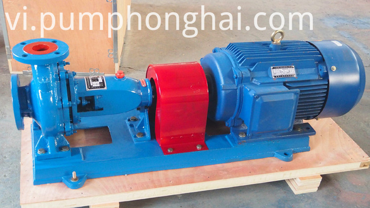 Electric Centrifugal Water Pump Cast Iron And Stainless Steel