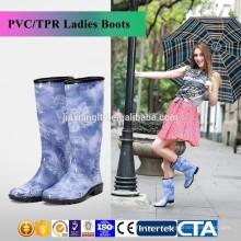 JX-993BE high heel rain boots for women