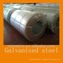 Acier galvanisé à chaud (GI: acier revêtu de Zinc) de la Chine