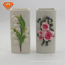 humidificador de aceite de cerámica en forma de flor